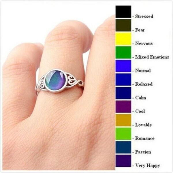 Antique, Heart, 925sliver, crystal ring