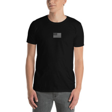 default, T Shirts, short sleeves, Embroidery