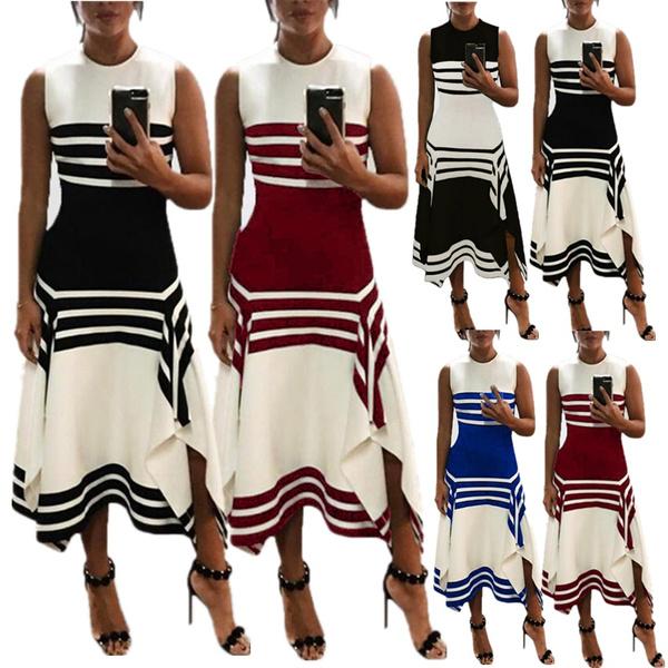 sleeveless, Fashion, long dress, fashion dress