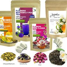 Flowers, Tea, chinesetea, Green