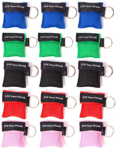Pocket, cprpocketmask, Key Chain, shield