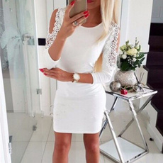 lace dresses, Fashion, Lace, Long sleeved