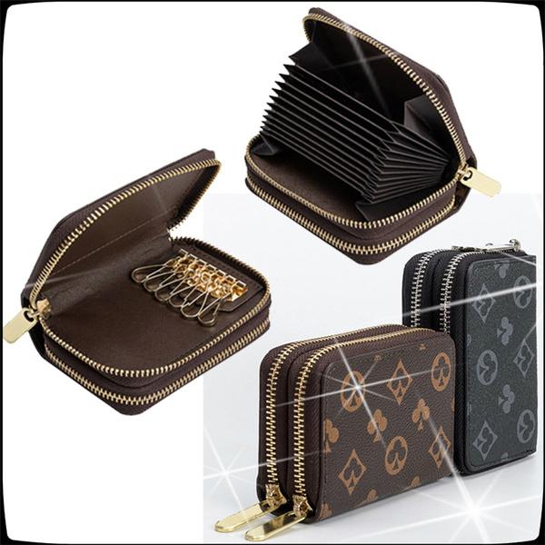 clutch purse, Keys, Zip, Wallet
