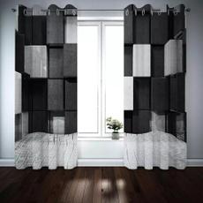 3dcurtain, luxurycurtain, blackandwhitecurtain, Home Decor