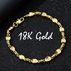 Fashion, waferchainbracelet, Jewelry, gold