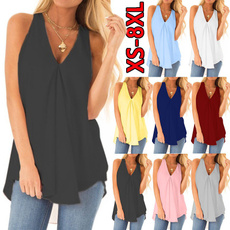 Clothes, Summer, Blouses & Shirts, chiffon