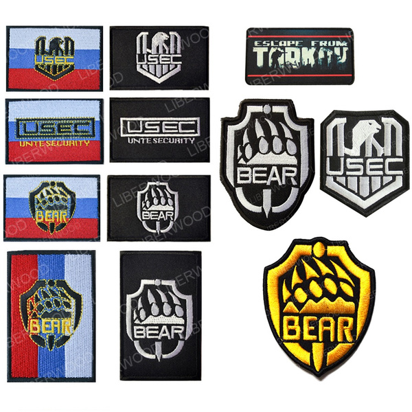 Stickers, Bears, embroidered, Game