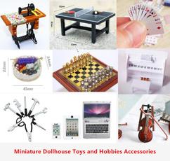 Mini, dollhousemusicalinstrument, Phone, dollhousetoy