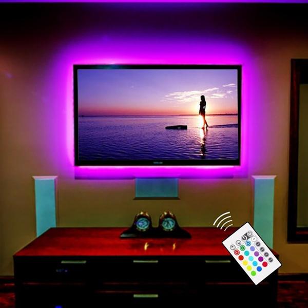 Television, LED Strip, led, usb