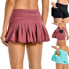 runningshort, Shorts, Golf, high waist