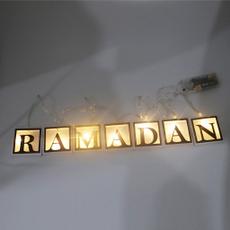 party, led, mubarak, lights