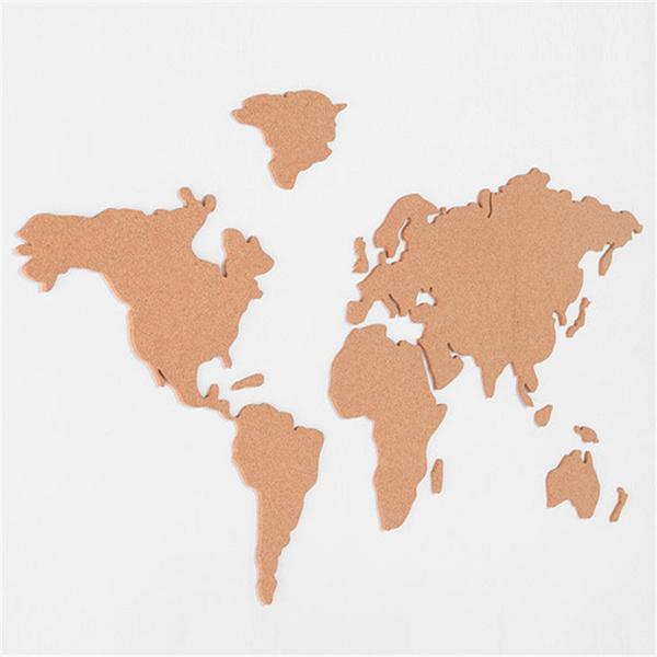 Map, Decor, woodenmap, Wooden