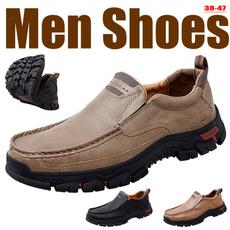 walkingshoesformen, Fashion, casualleathershoesformen, leather