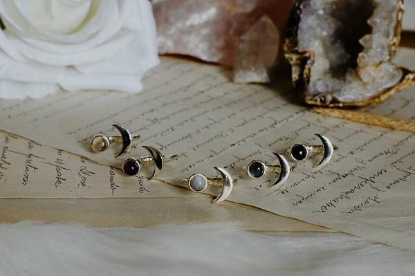 adjustablering, celestial, moongoddessjewelry, Jewelry