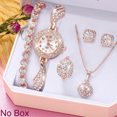 DIAMOND, rosegoldwatch, gold, Stud Earring