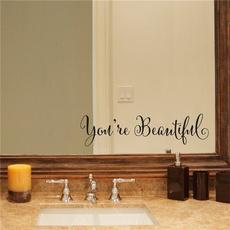 Beautiful, Home & Kitchen, Stickers, homefurnishingdecoration
