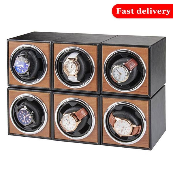 Box, watchstorage, Electric, Wooden
