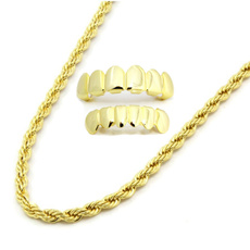 925silverjewelryset, goldplated, Chain Necklace, Fashion