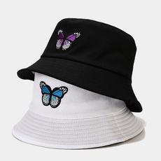 butterfly, fishermancap, beachhatcap, unisex