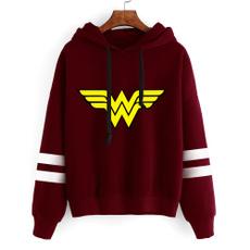 cute, Fashion, wonderwomansweatshirt, Sleeve