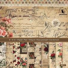 patterned, Scrapbooking, craftpaper, Vintage