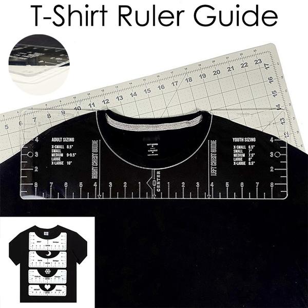 ruler, t shirt design, heatpre, T Shirts