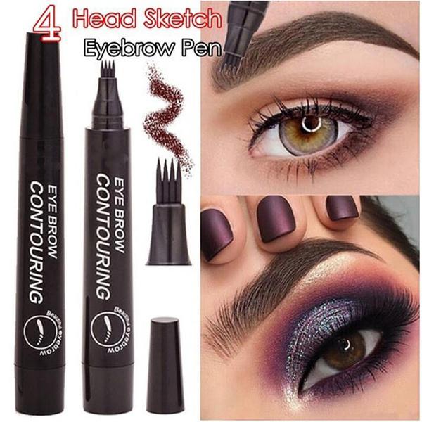 pencil, Head, Makeup, Natural