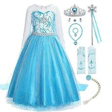 princesscostumesforgirl, elsa dress, elsaannacosplay, Cosplay