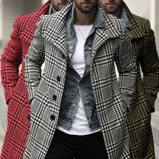 Jacket, plaid, Men's Fashion, Sleeve