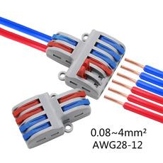 Mini, connectoradapter, levernutconnector, wiresplitter