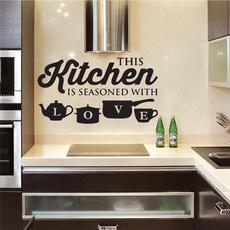PVC wall stickers, Kitchen & Dining, Fashion, Wall Art