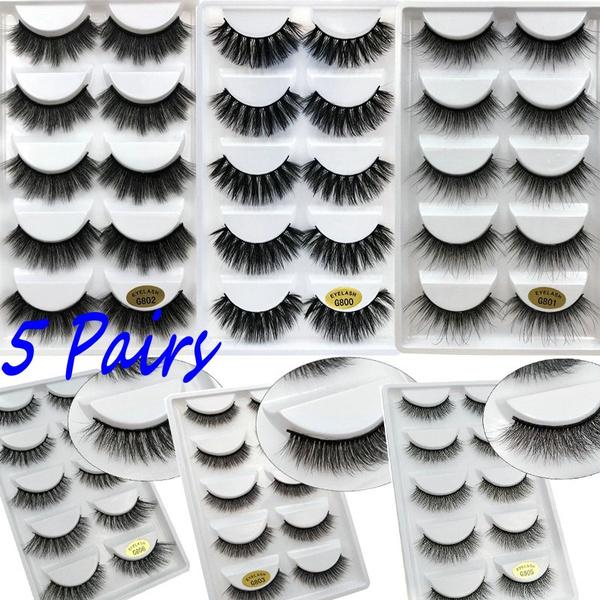 3dminklashe, False Eyelashes, Eye Makeup, thickfalseeyelashe