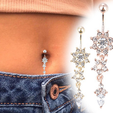 buttonring, navelpiercingjewelry, navel rings, Jewelry