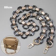 bagstrap, diypursechain, Chain, resinhandle