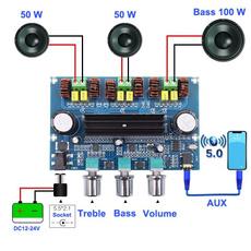 amplifierboard, Amplifier, stereoreceiver, Bluetooth
