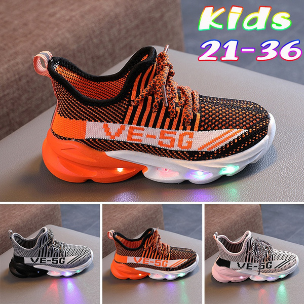 shoes for kids, Sneakers, led, Sports & Outdoors