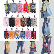 waterproof bag, Shoulder Bags, Floral print, Tote Bag