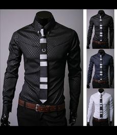 Turn-down Collar, suitshirt, Long Sleeve, summer shirt
