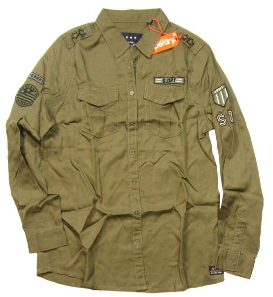 khaki, Shirt, Cowboy, button