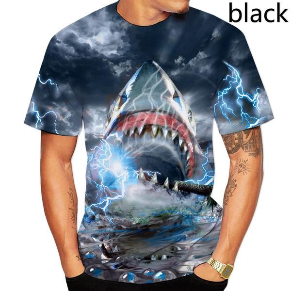 Hip Hop, Shark, Shorts, Sleeve