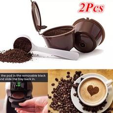 capsulefiltercup, Coffee, reusablecoffeecapsulecup, coffeefilter