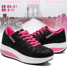 casualshoeswomen, shakeshoe, Plus Size, Platform Shoes