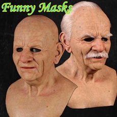 Funny, oldmanmask, funnytoy, Toys and Hobbies