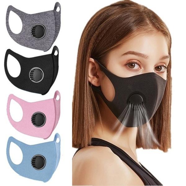 Outdoor, unisex, valve, Masks