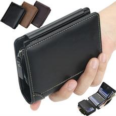 brown, shortwallet, Fashion, wallet for men