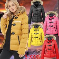 Jacket, hooded, Winter, pufferjacket