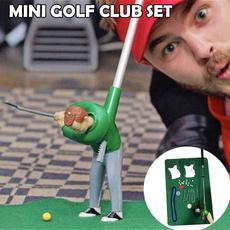 Mini, golfclubset, Indoor, Golf