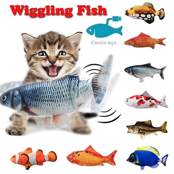 Funny, cattoy, electricfish, movingfish
