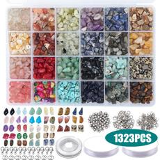 beadsforjewelrymaking, irregularbead, Bracelet Making, Elastic