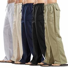 trousers, cottonlinen, pants, manpant